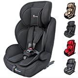 Clamaro 'Guardian Isofix' Kinderautositz 9-36 kg mit ISOFIX, Kopfstütze verstellbar mitwachsend,...
