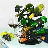 Drehbares 9 Flaschen-Weinregal von bar@drinkstuff | Drehbares Weinflaschenregal, Weinkarussell,...