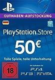 PSN Card-Aufstockung | 50 EUR | PS4, PS3, PS Vita Playstation Network Download Code - deutsches...