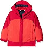 VAUDE Kinder Kids Suricate 3in1 Jacket III Doppeljacke, Magma, 158/164