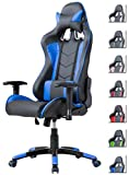 Delman Gaming Stuhl Bürostuhl Racing Stuhl Schreibtischstuhl ergonomische Design 02-1004...