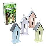 Großes Schmetterlingshaus für den Garten aus Zinn, in 4 Farben erhältlich