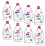 Sagrtoan Wäsche Hygienespüler sensitiv, 8er Pack (8 x 1,5 L Flasche; 12 Liter gesamt)