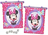 Unbekannt 2 TLG. Set Sonnenschutz Rollo - Disney Minnie Mouse - für Fenster und Auto Seitenscheibe...