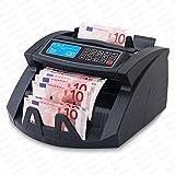 Stückzahlzähler Geldzählmaschine Geldzähler Geldscheinzähler Scheine SR-3750 LCD UV/MG/IR von...