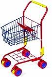 Einkaufswagen aus Metall für ein tolles Einkaufsgefühl, stabiler Metallrahmen inklusive...