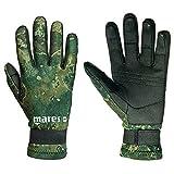 Mares Erwachsene Taucherhandschuhe Gloves AMARA CAMO 20, Schwarz/green, XL, 422756