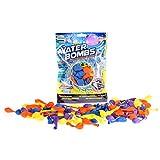 TOI TOYS 65080 Wasserballons, 100 Wasseballons z mit Wasserhahn Kappe