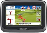 Becker mamba.4 LMU plus Motorrad-Navigationsgerät (Blendfreies 10,9 cm (4,3 Zoll) Display, 47...