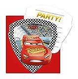 6 Einladungen und Umschläge * CARS 3 * für Kindergeburtstag oder Motto-Party // Invitations...