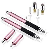 WorCord 2 Stück 2 in 1 Eingabestift Touchstift Stylus Touch Pen Grafiktablett-Stifte Malerei...