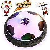 Air Power Fußball - Baztoy Hover Power Ball Indoor Fußball mit LED Beleuchtung, Perfekt zum...