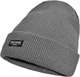 Herren Wintermütze Skimütze mit Thinsulatefütterung extra warm Farbe Anthrazit