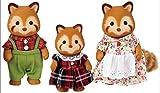 Sylvanian Families 5215 - Rote Panda Familie Puschel