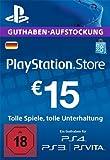PSN Card-Aufstockung | 15 EUR | PS4, PS3, PS Vita Playstation Network Download Code - deutsches...