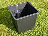 Premium-Pflanzeinsätze aus KUNSTSTOFF mit Bewässerungssystem, Größe 26x26x25 cm, für...