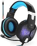 Headset Gaming PC PS4 ArkarTech Mikrofon Kopfhörer Gamer Ultra-leichtes Einstellbare Bass-Stereo...