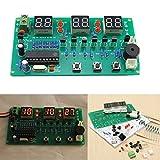 LaDicha 5V-12V At89C2051 Multifunktions Sechs Digitale Led Diy Elektronische Uhr Kit