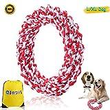 Hundeseil Spielzeug, Hunde kau Spielzeug 100% Baumwolle Unzerbrechlich Spielzeug Zähne sauber...