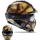 Ruroc RG1-DX Ski Snowboard Helm (M/L (57-60cm), Forge)