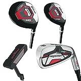 Wilson ProStaff HDX Golf Komplettset +1 inch Eisen 5-SW, Hybrid, Holz, Putter