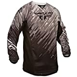 Fly 2015 Motocross / MTB Jersey - Kinetic Glitch Schwarz/Grau: Größe Jersey: M