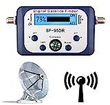 BEOOTCR SF-95DR Satfinder Messgerät Digital Mit LCD Display Screen Satellitenerkennung und Kompass