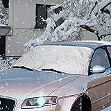 Scheibenabdeckung, Topist Frontscheibe Abdeckung Frostabdeckung Auto Frostschutz, Windschutzscheiben...