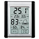 [2017 Neuestes] Thermo-Hygrometer, E2Buy® Digitales Touch-LCD-Mini-Thermometer mit magnetischer...