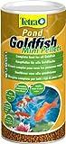 Tetra Pond Goldfish Mini Pellets (Hauptfutter für alle Goldfische), 1 Liter Dose
