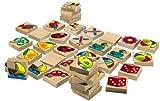 Eichhorn - 100072402 - Holz Bilder-Memo Spiel, 40-teilig, mit 20 verschiedenen Motiven, aus...