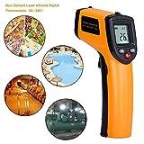 Infrarot Thermometer, Queta berührungslose LCD Beleuchtung Digital Laser Infrarot Thermometer...