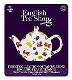 English Tea Shop - Hochwertige Tee-Geschenkbox aus Metall 'Super Fruit' mit 72 BIO Tees