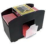 Elektrischer Kartenmischer für Pokern Automatischer Pokerkarten Mischer Kartenmischmaschine XXL...