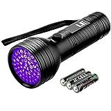 LE UV Taschenlampe, 51 LEDs, Haustier Fleckendetektor & Urindetektor, Schwarzlicht 395 nm,...