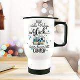 ilka parey wandtattoo-welt® Thermobecher Camping Thermotasse Thermosflasche Kaffeebecher Becher...