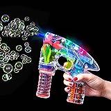 German Trendseller® - LED Seifenblasen Pistole ┃ Light UP ┃ Mitgebsel ┃ Kindergeburtstag ┃...