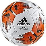 adidas Team Top Replique Fußball White/Orange/Black/Iron Metallic, 4
