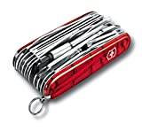 Victorinox Taschenwerkzeug OffiziermSwiss Champ XLT Rot Transparent, 1.6795.XLT