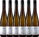 6er Paket - Grauer Burgunder eins zu eins Kabinett trocken 2017 - A. Diehl | trockener Weißwein |...