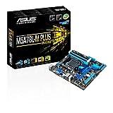 Asus M5A78L-M PLUS/USB3 Mainboard Sockel AM3+ (µATX, AMD 760G, 4x DDR3-Speicher, 6x SATA 3Gb/s,...