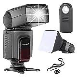 Neewer TT560 Speedlite Blitzgerät Kit für Canon Nikon Sony Pentax DSLR Kameras mit Standard Hot...