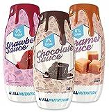 ALLNUTRITION Syrup Fettfrei Und Zuckerfrei Sirup Low Carb 300ml (Chocolate - Schokolade)