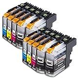 10 XXL Druckerpatronen Kompatibel für Brother LC223xl LC223 xl Brother Lc 223xl Brother LC 223 xl...