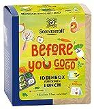 Sonnentor Bio Gewürz- und Teemischung, Ideenbox für Deinen Lunch'Before you go go!', 42,8 g