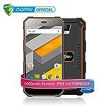 NOMU S10 4G Schroffes Smartphone Android 6.0 5.0 Zoll Gorilla Glasschirm MTK6737 1.5GHz Quad Core...