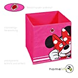 Faltbox Walt Disney Minnie Maus - ist die ideale Aufbewahrungsbox Regalbox für das Kinderzimmer...