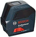 Bosch Professional Linienlaser GLL 2-10, Reichweite 10 M in Schutztasche, 1 Stück, 0601063L00