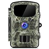 SVMUU Wildkamera 14 MP 1080P Jagdkamera Beutekameras 2.4' LCD mit 940nm IR LED's Sensoren mit...