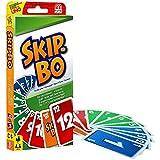 Mattel 52370-0 - Skip-Bo, Kartenspiel